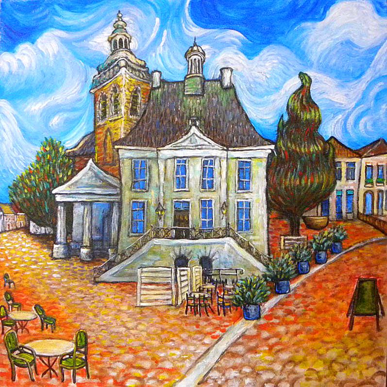 Anita ammerlaan a s zondag 14 juni feestelijke opening eye candy 8 for Schilderij huis voorgerecht