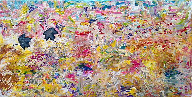 Anita ammerlaan het kleurrijke kunst centrum van roosendaal - Gang schilderij ...